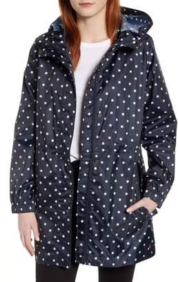 Joules Go Lightly Waterproof Pack Away Hooded Jacket