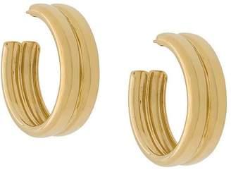 A.P.C. chunky hoop earrings