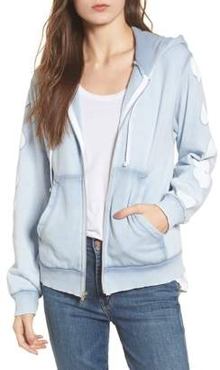 Wildfox Couture Heart of Hearts Zip Hoodie