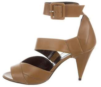 Pierre Hardy Leather Ankle Strap Sandals