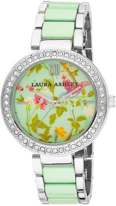 Laura Ashley Women's LA31007BL Two-Tone Summer Duck Bracelet Watch
