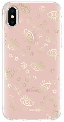 Rebecca Minkoff Metallic Galaxy Icon iPhone X Case
