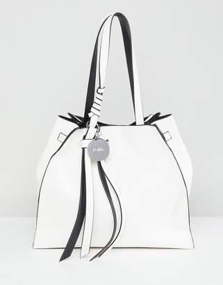 Faith Tie Detail Tote Bag