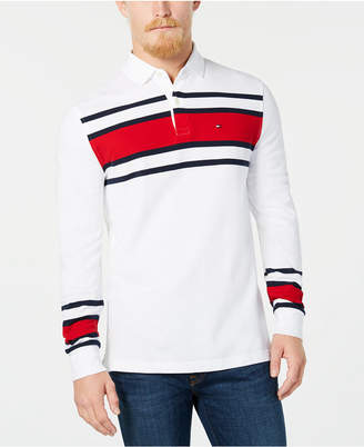 Tommy Hilfiger Men's Lewiston Striped Polo