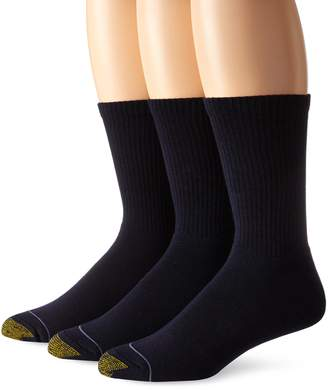 Gold Toe Men's 2306S Uptown Crew 3 Pack Casual Sock