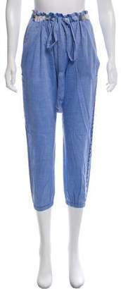 Lemlem Cropped High-Rise Pants w/ Tags