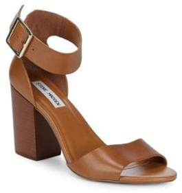 Steve Madden Estoriaa Leather Block-Heels