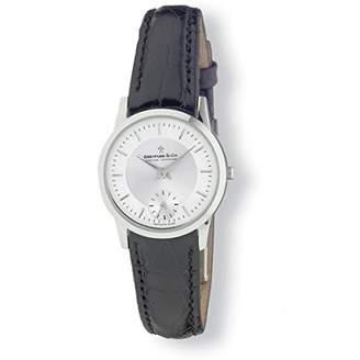Dreyfuss & Co Dreyfuss Womens Quartz Watch, Chronograph Display and Leather Strap DLS00001/02