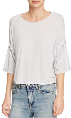 IRO.JEANS Lago Lace-Up Top $190 thestylecure.com