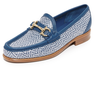 Salvatore Ferragamo Mason Twist Loafers $595 thestylecure.com