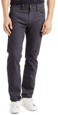 Levi's 513 Stealth Slim Straight-Fit Jeans
