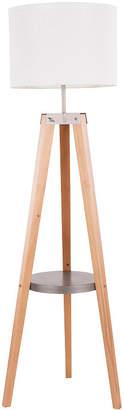 Lumisource Compass Floor Lamp with Shelf
