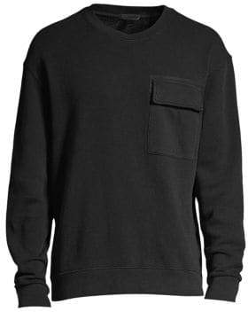 ATM Anthony Thomas Melillo Flap Pocket Sweatshirt