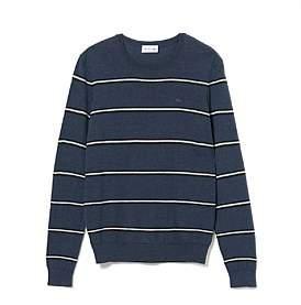 Lacoste Crew Nk Stripe Sweater