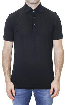 Della Ciana Pique Cotton Polo Shirt