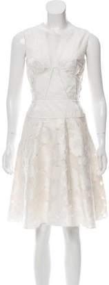 Nina Ricci Embroidered A-Line Dress