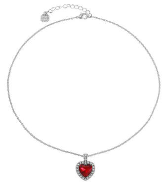 MONET JEWELRY Monet Jewelry Womens Red Heart Pendant Necklace