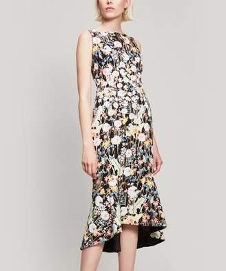 Peter Pilotto Kia Floral Cady Midi Dress