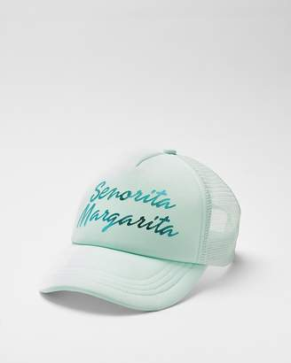 Express Senorita Margarita Trucker Hat