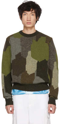 Stella McCartney Multicolor Military Sweater