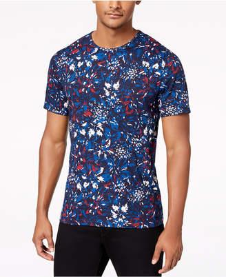 Michael Kors Men's Slim-Fit Floral Graphic T-Shirt
