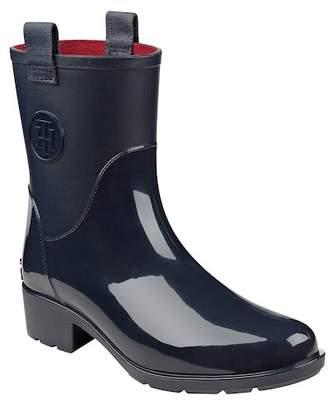 Tommy Hilfiger Khristie Block Heel Rain Boot