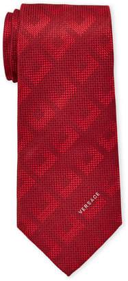 Versace Red Silk Tie