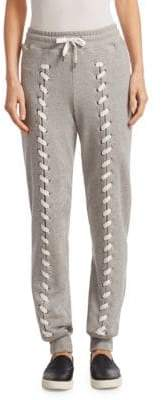 Jonathan Simkhai Loopback Cotton Stitch Sweatpants