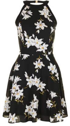 Coco + Carmen Magnolia Halter Dress