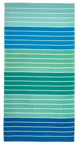 Stripe Beach Towel Blue/Green