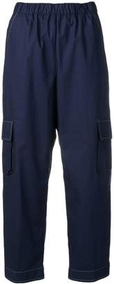 Semi-Couture Semicouture cropped cargo trousers