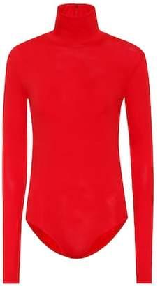 Acne Studios Stretch cotton turtleneck bodysuit