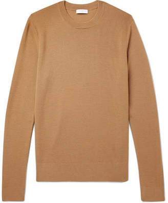 Sandro Slim-Fit Textured-Knit Wool-Blend Sweater
