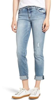 KUT from the Kloth Catherine Boyfriend Ripped Jeans