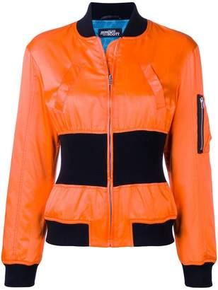 Jeremy Scott cinched bomber jacket