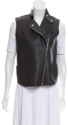 Alexander Wang Pebbled Leather Vest