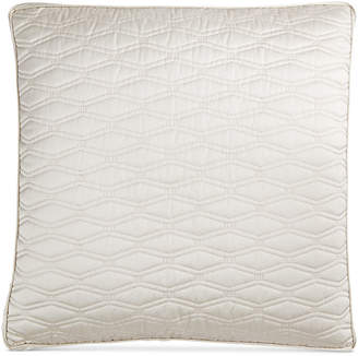 Hotel Collection Woven Texture Quilted European Sham Bedding