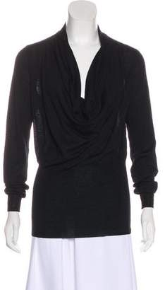 Saint Laurent Wool Cowl Neck Sweater