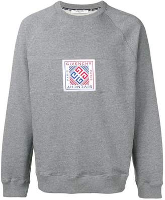 Givenchy woven patch sweatshirt