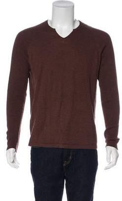 Barneys New York Barney's New York V-Neck Knit Sweater