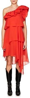 Givenchy Women's Silk Georgette One-Shoulder Dress