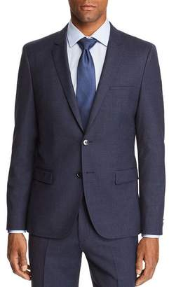 HUGO Arti Micro-Check Slim Fit Suit Jacket