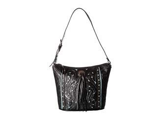 American West Hill Country Zip Top Bucket Tote