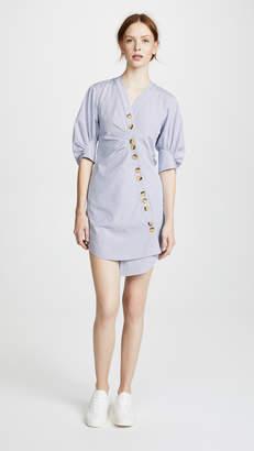 Tibi Asymmetrical Shirtdress