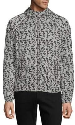 Prada Printed Full-Zip Jacket