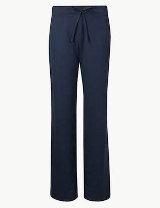 Marks and Spencer Cotton Rich Straight Leg Joggers