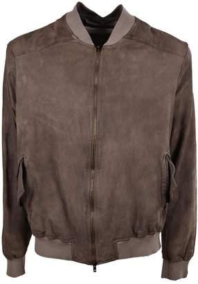 Salvatore Santoro Classic Bomber Leather Jacket
