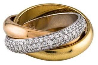 Cartier Classic Diamond Trinity Ring
