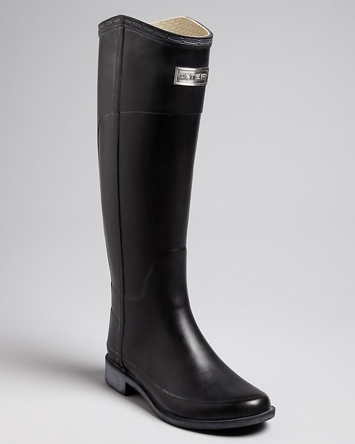 Hunter Riding Rain Boots - Cece 2 Tone