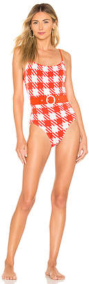 Solid & Striped Belted Nina One Piece